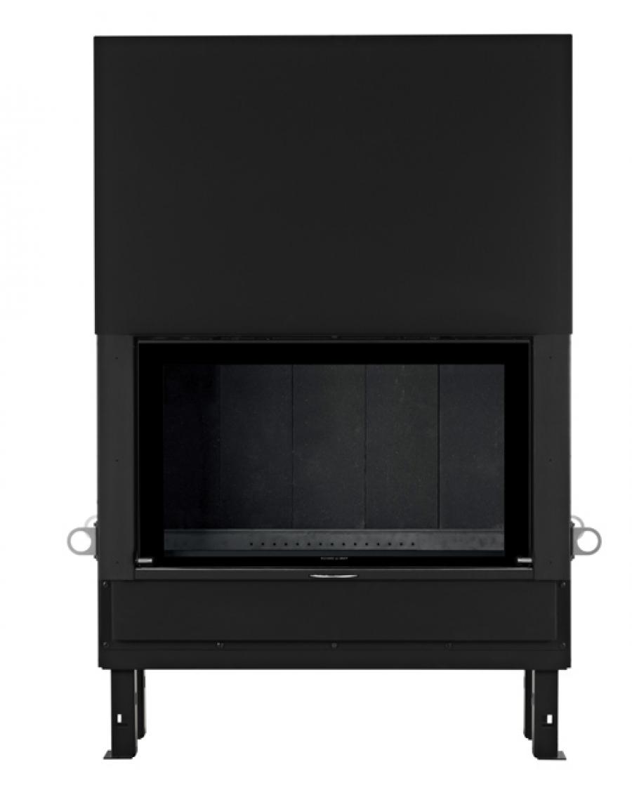 chemin e foyer contemporain empyrium 1000 poele a bois. Black Bedroom Furniture Sets. Home Design Ideas