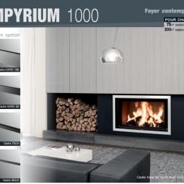 Cheminée - Foyer contemporain Empyrium 1000