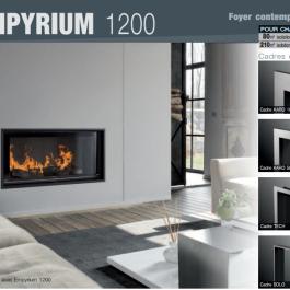Cheminée - Foyer contemporain Empyrium 1200